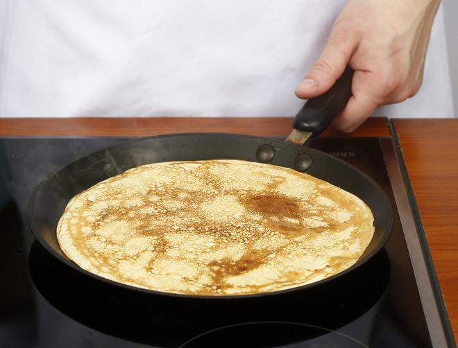Как сделать блинчики на сковороде