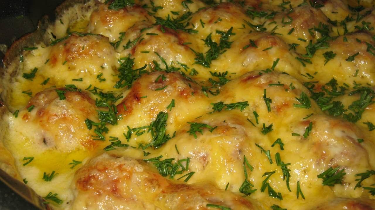 Рецепт фарш с картошкой в духовке