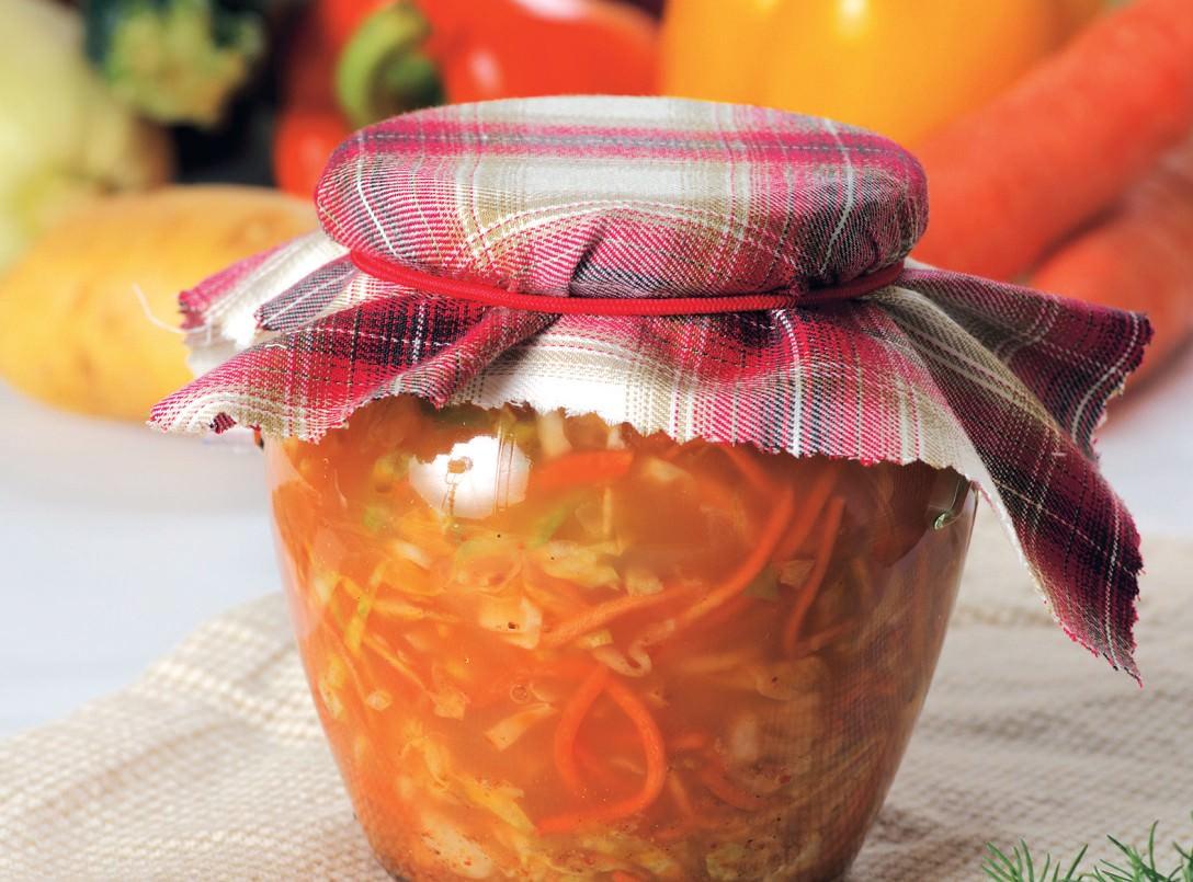 Салат с морковкой на зиму рецепты