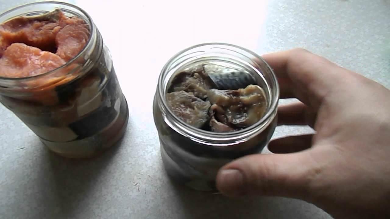 Как делать консервы из рыбы в домашних условиях