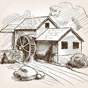 Устройство водяной мельницы