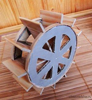 Колесо для водяной мельницы